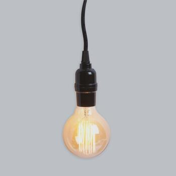 "8"" Round Edison Pendant Light"