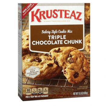 Krusteaz® Triple Chocolate Chunk Cookie Mix, 12 Boxes