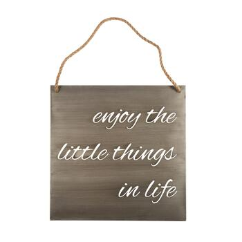 "The Grainhouse™ 20"" ""The Little Things"" Wall Sign"
