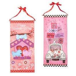 "30"" ""Valentine's Day"" Love Banners, Set of 2"