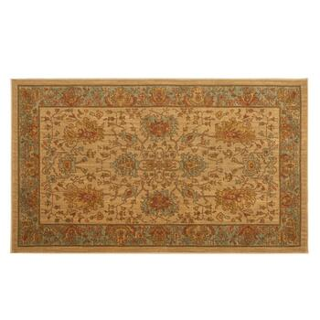 3'x5' Mohawk Home Brown Traditional Wool Accent Rug