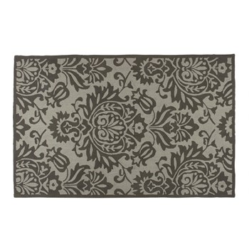 "4'5""x6'9"" Cream/Gray Aden Area Rug"