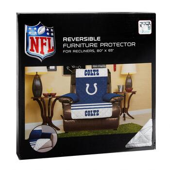NFL Indianapolis Colts Reversible Recliner Cover