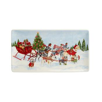 Sled Dogs Rectangular Trays, Set of 2 view 2