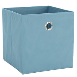 "10.5"" Large Blue Folding Storage Cube view 1"