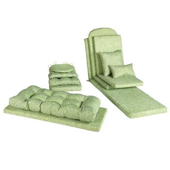 Vera® Green Scroll Indoor/Outdoor Chair Cushions Collection