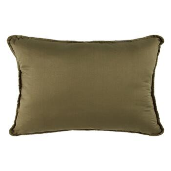 """Live Simply"" Embroidered Oblong Throw Pillow view 2"