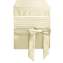 Faux Silk Bow Table Runner