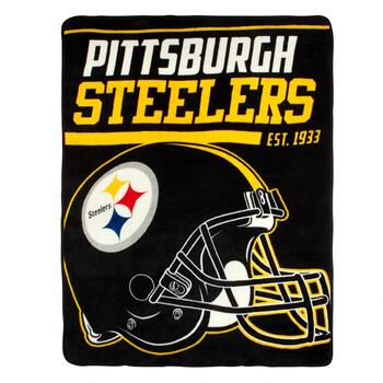 NFL Pittsburgh Steelers Plush Throw Blanket