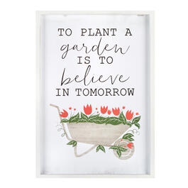 "19""x27"" ""Believe in Tomorrow"" Framed Wall Decor view 1"