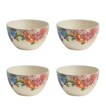 Country Roads Floral Fruit Bowls, Set of 4