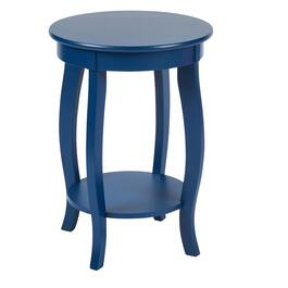 "24"" Curved Legs Round Accent Table"