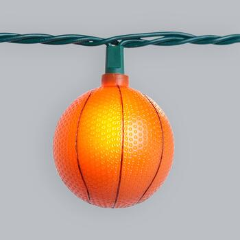 9.5' Basketballs String Lights, Set of 2 view 2