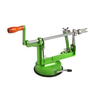 "9.75"" Deluxe Metal Apple Peeler"