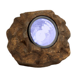 Solar Rock LED Garden Light view 1