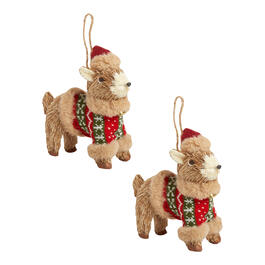 Winter Sweater Deer Ornaments, Set of 2 view 1
