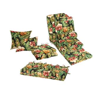 Tropical Indoor/Outdoor Seat Pads Collection