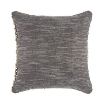The Grainhouse™ Macrame Overlay Square Throw Pillow view 2