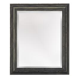 "16""x20"" Alison Black Distressed Frame Wall Mirror"