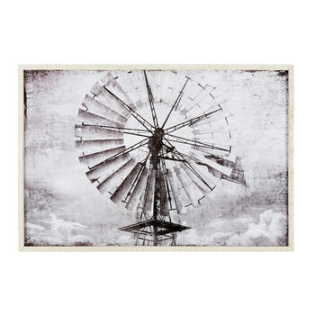 Wd Frm Gy 24x36 Windmill view 1