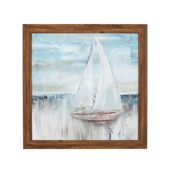 "24"" Boat Scene Wall Decor"