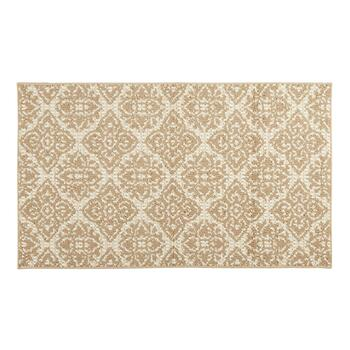 Mohawk Home Beige Floral Accent Rug