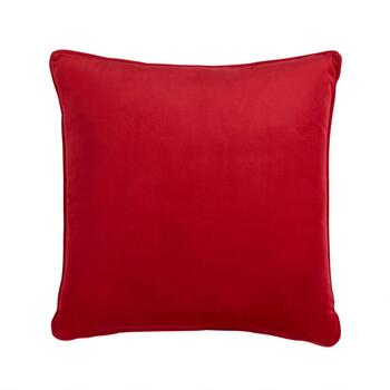"""Le Woof"" Square Throw Pillow view 2"