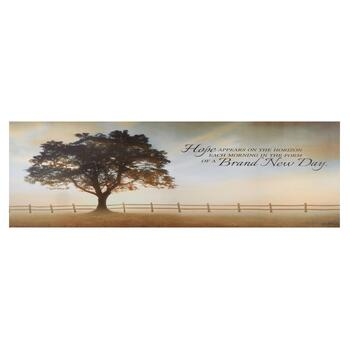 """A Brand New Day"" Canvas Wall Decor"