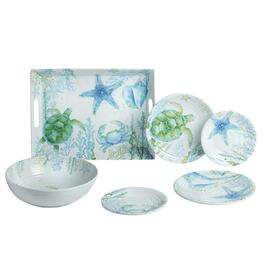 Coastal Living Seascapes™ Melamine Dinnerware