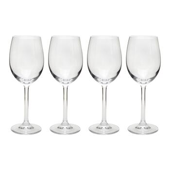 11-oz. European White Wine Glasses, Set of 4