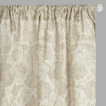Raphaelle Leaf Pattern Window Curtains, Set of 2 view 1