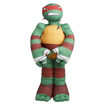 Plush Teenage Mutant Ninja Turtles Raphael Cuddle Pillow