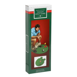 Potty Putter Toilet Golf Game Set view 1