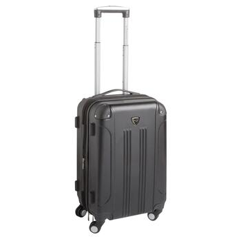 "Travelers Club® 20"" Expandable Hardside Rolling Suitcase"