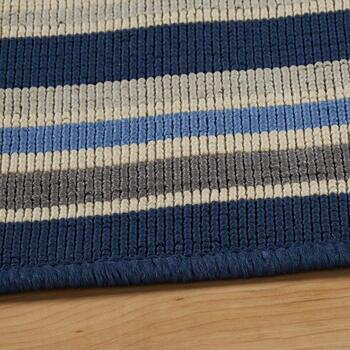 Tributeary Border All-Weather Rug view 2