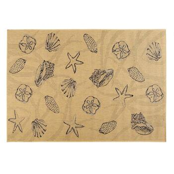 Assorted Shells All-Weather Area Rug