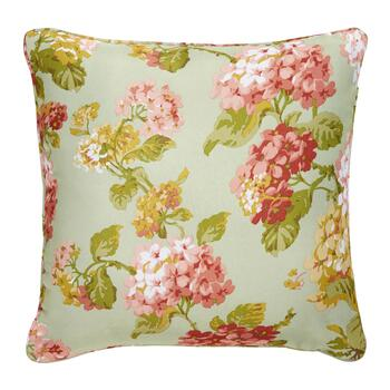 Waverly® Pink Blooms Indoor/Outdoor Square Throw Pillow