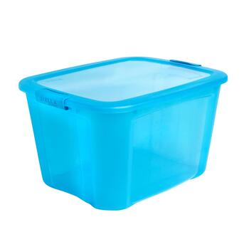 Blue 40-Qt. Lock Lid Storage Box