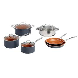 As Seen on TV Gotham™ Steel Nonstick Aluminum Cookware Set, 10-Piece