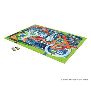 Hot Wheels® Mega Mat™ with Vehicles view 1
