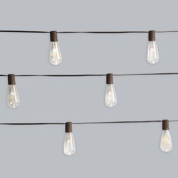 10-Count Solar Edison String Lights