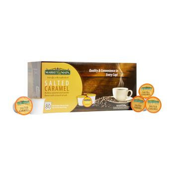 Market & Main® Salted Caramel Coffee Pods, 80-Count