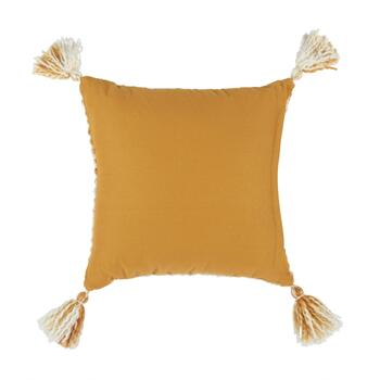 "The Grainhouse™ 18"" Gold Diamond Square Throw Pillow view 2"