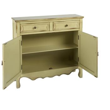 Kingston Antique 2-Door/2-Drawer Storage Chest view 2