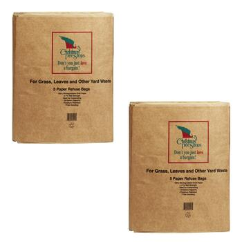 Lawn and Leaf Paper Bags, 10-Pack view 2