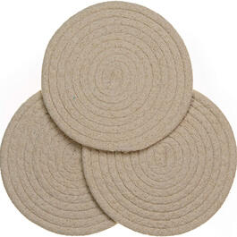 Oval Chenille Trivets, Set of 3 view 1