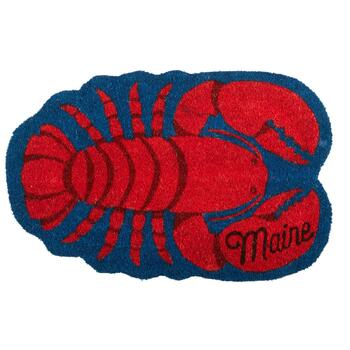Maine Lobster Coir Door Mat