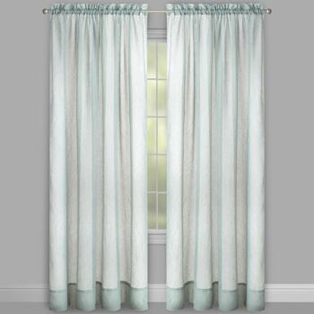 Crushed Voile Curtains, Set of 2 view 2