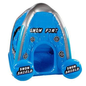 Blue Inflatable Snow Fort
