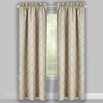 Geo Denver Blackout Grommet Window Curtains, Set of 2 view 2